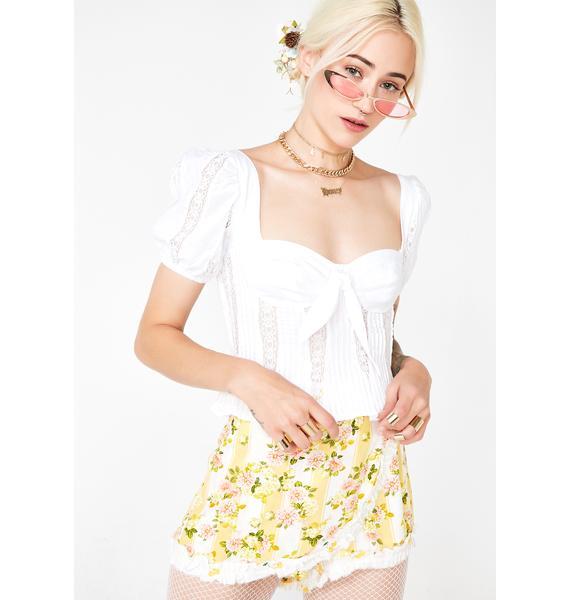 For Love & Lemons Virginia Lacey Blouse