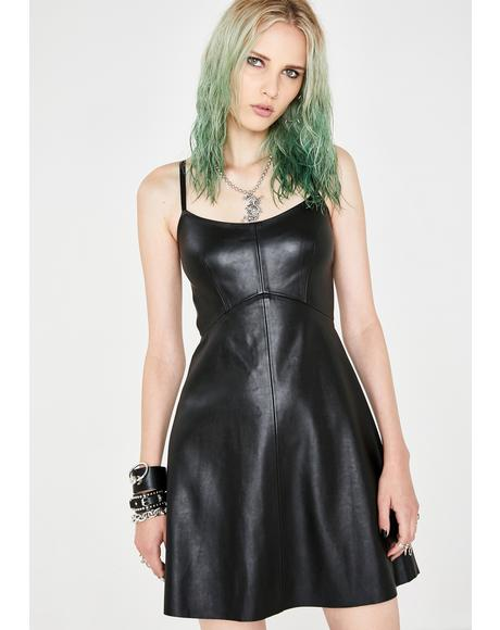 Off Topic Mini Dress