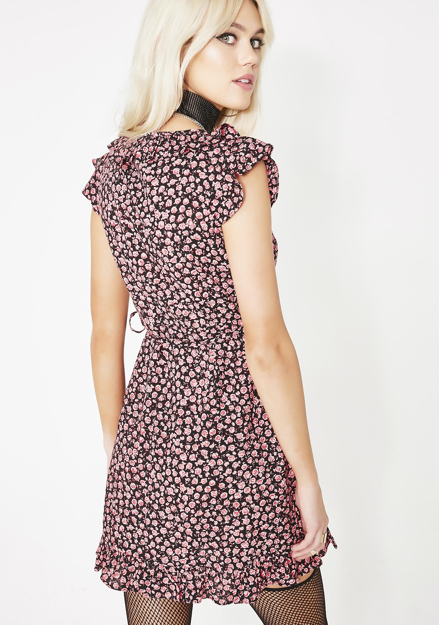 Motel Floral Rica Dress