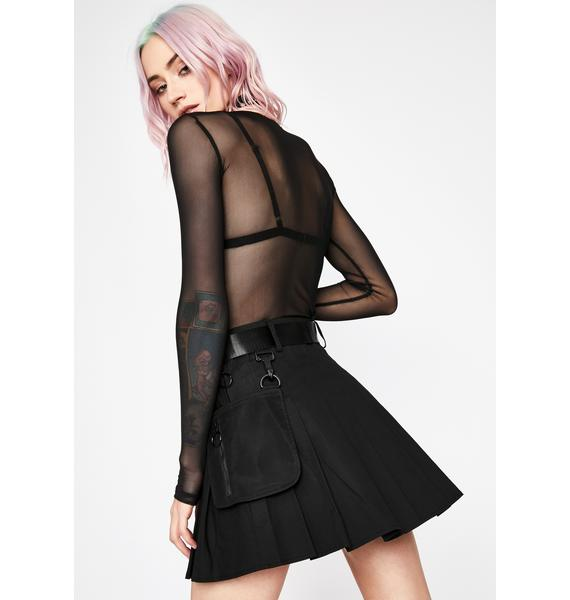 Current Mood Devious High Security Utility Skirt