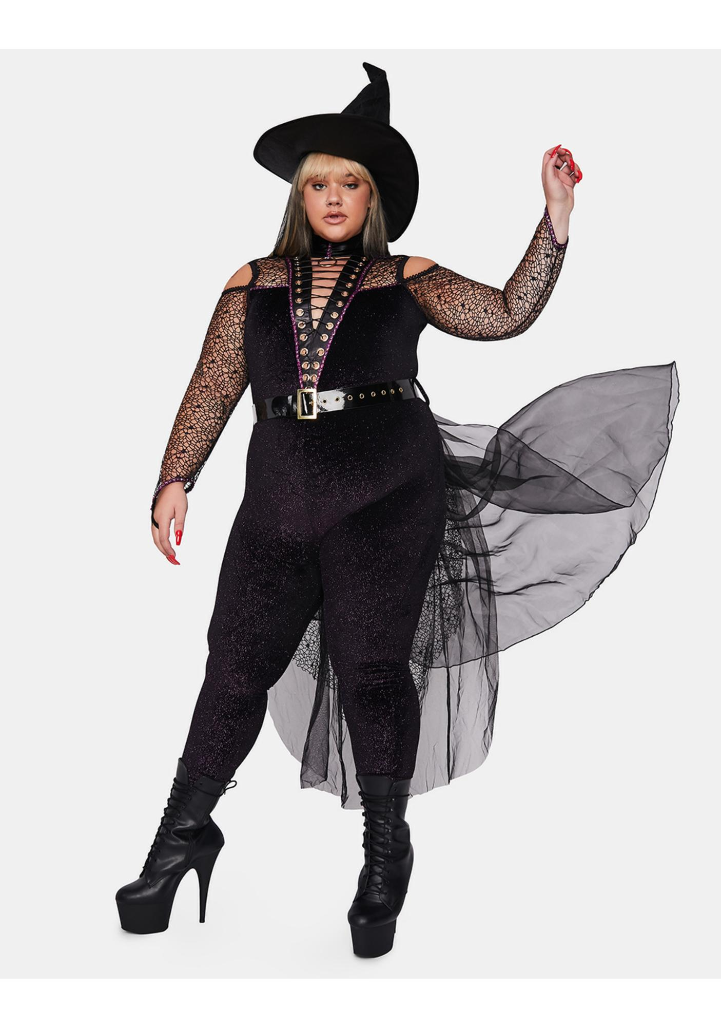 Queen Violet Coven Witch Costume