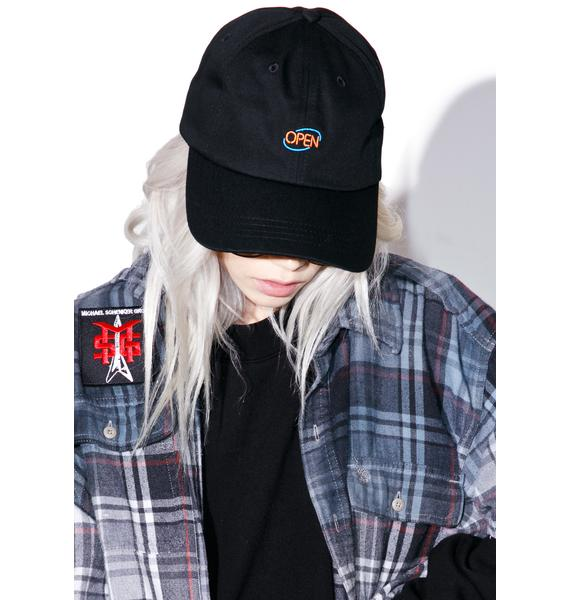 CRSHR Open Sign Dad Hat