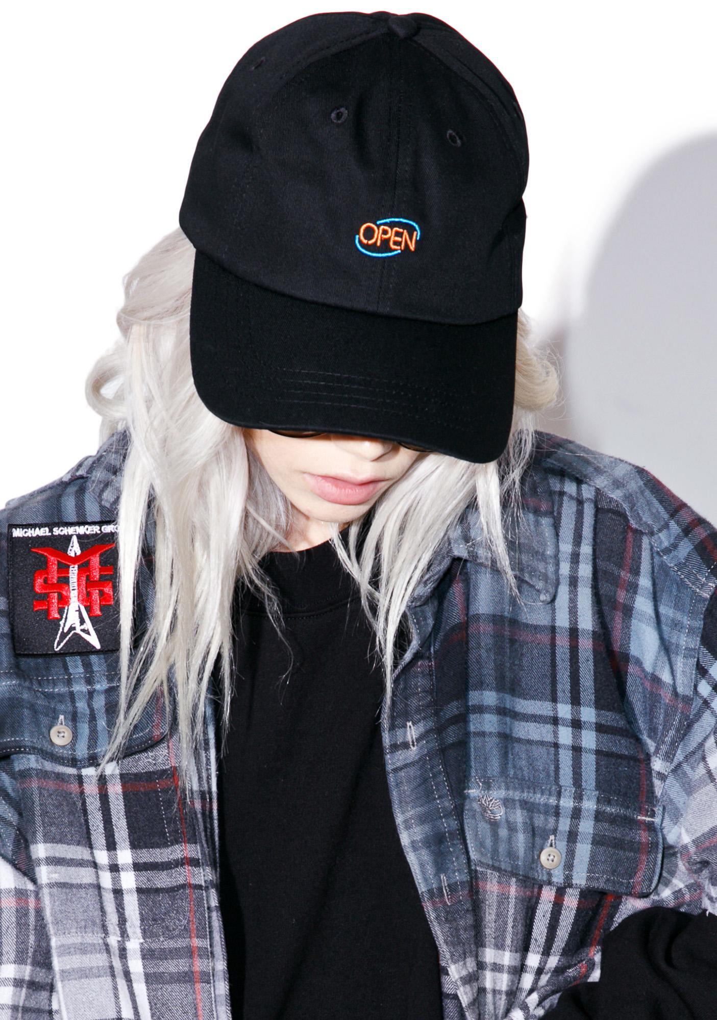 CRSHR Open Sign Dad Hat