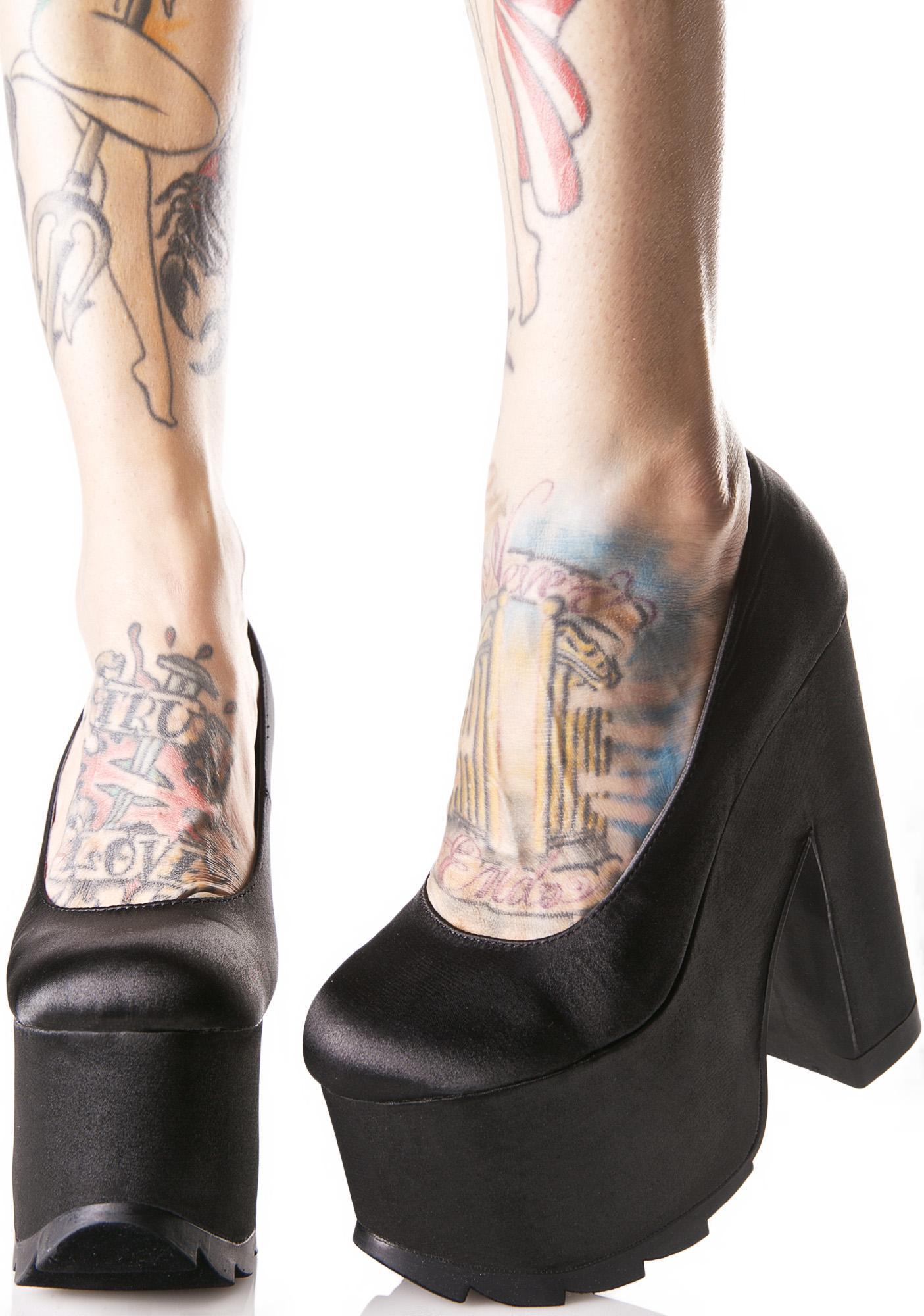 Y.R.U. Niite Chunky Heels