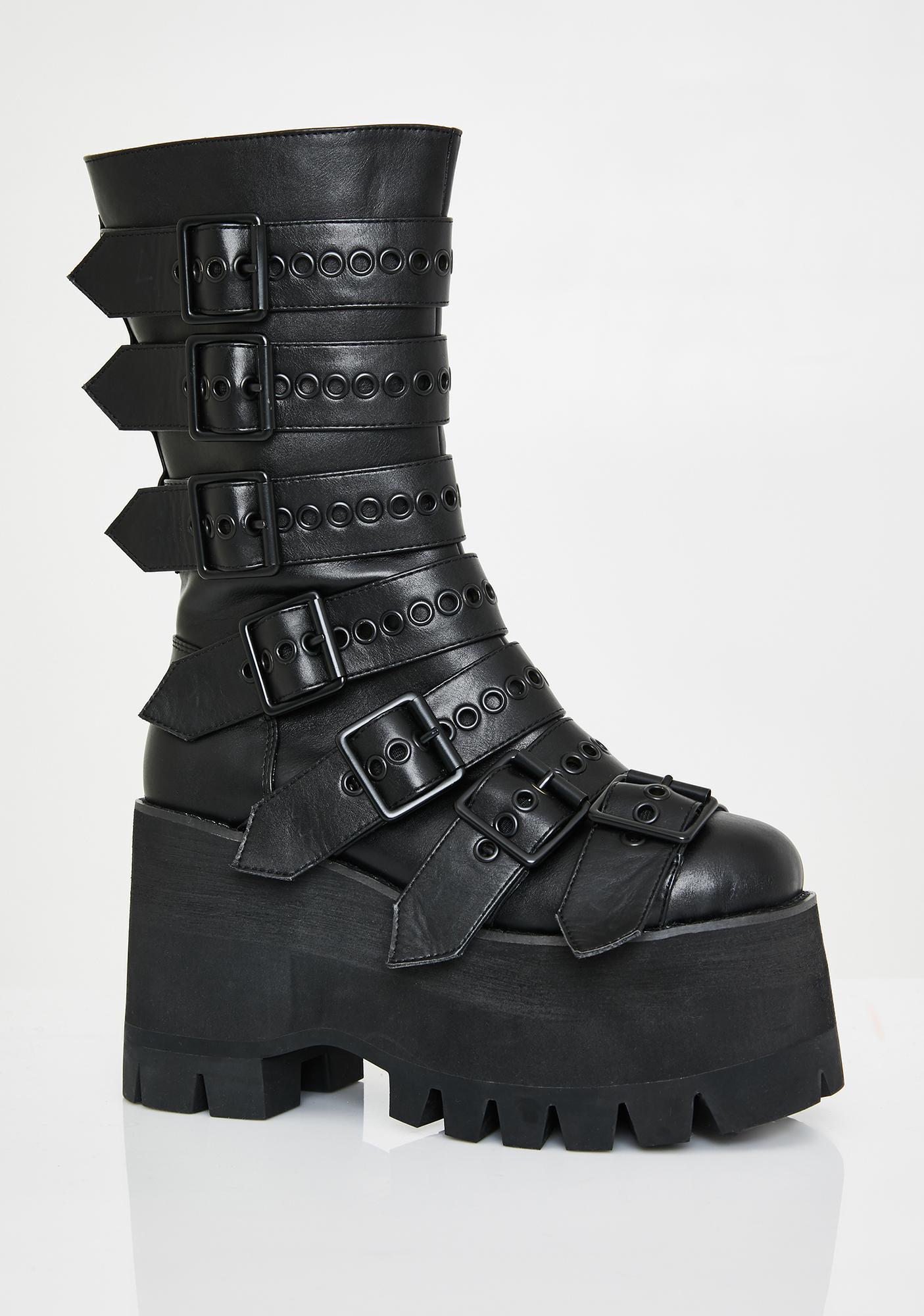 Club Exx Annihilation Platform Boots