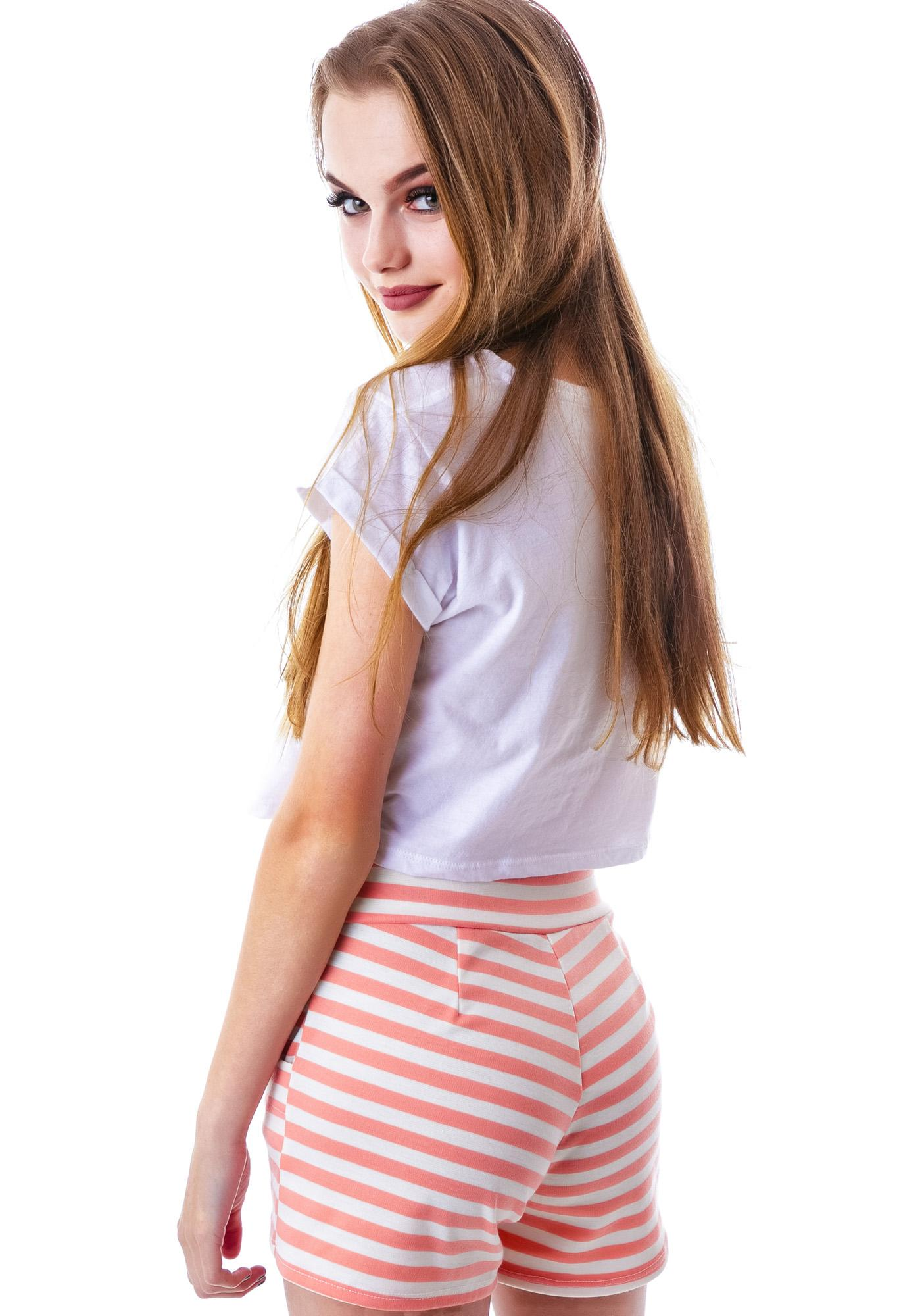 Line It Up Stripe Short