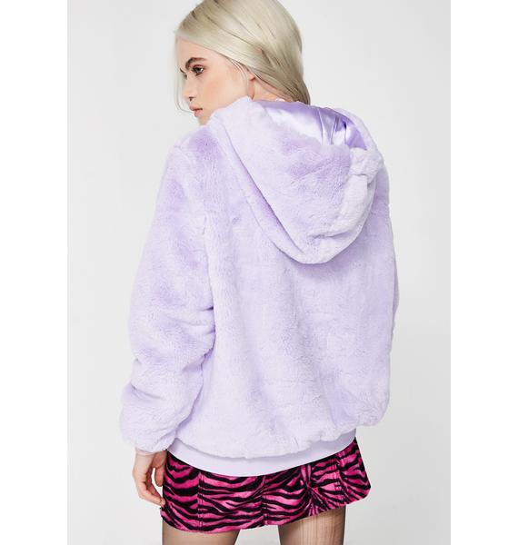 Sizurp Girl Gang Furry Hoodie