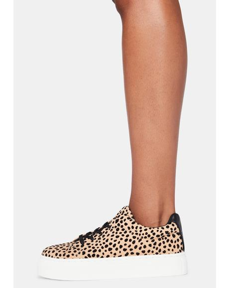Leopard Royal Pain Platform Sneakers