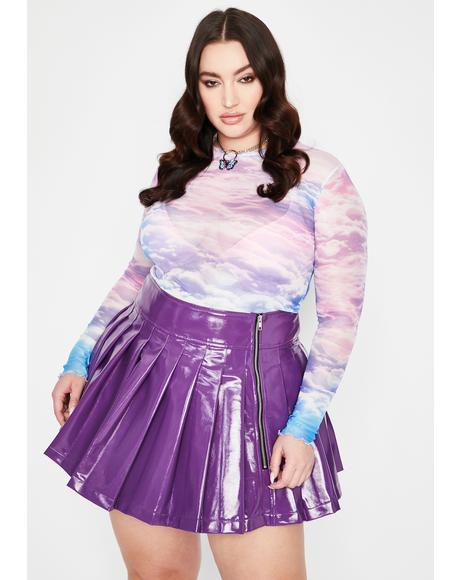 Fairy She's Going Rogue Pleated Skirt