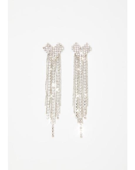 Bling It On Rhinestone Earrings