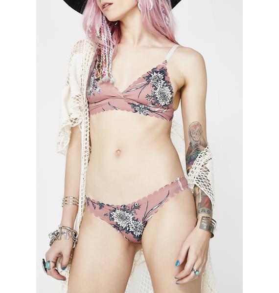 Lira Clothing Amaryllis Seamless Reversible Bikini Bottoms