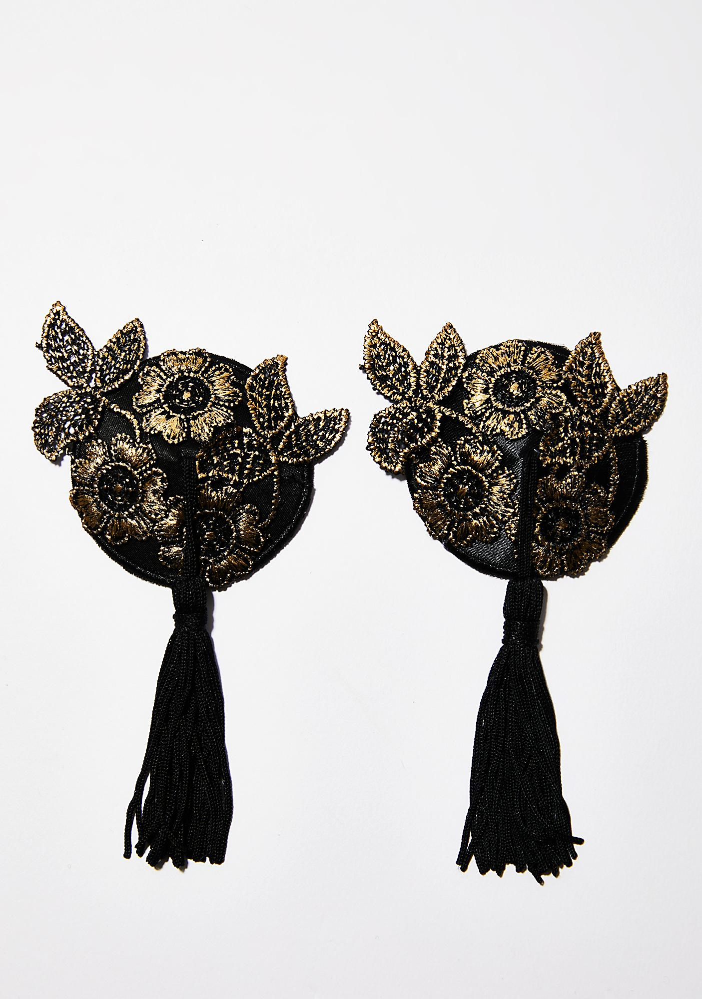 Key To The Secret Garden Tassel Pasties