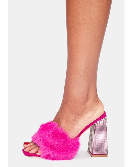 Pretty In Bling Heels