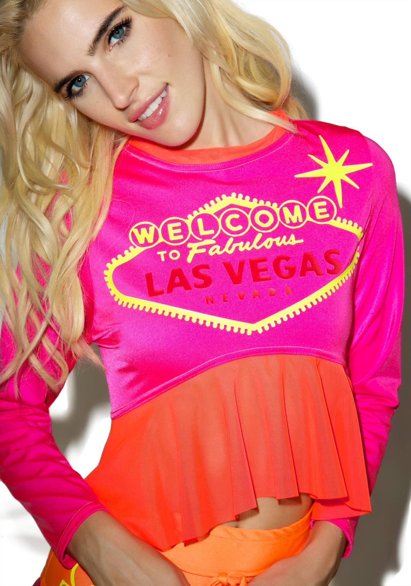 Jade Clark Welcome To Vegas Crop