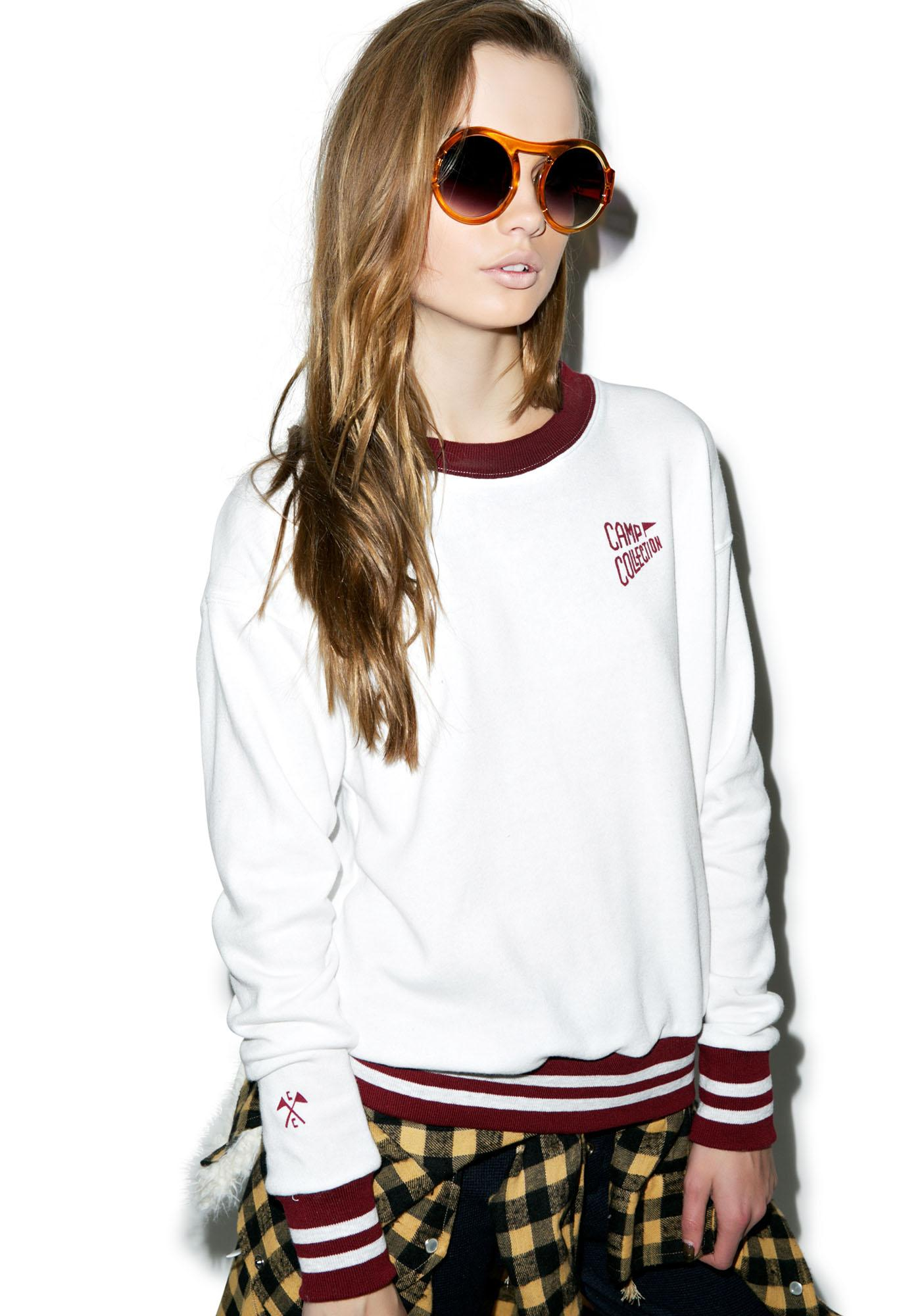 Camp Collection Varsity Camp Sweatshirt