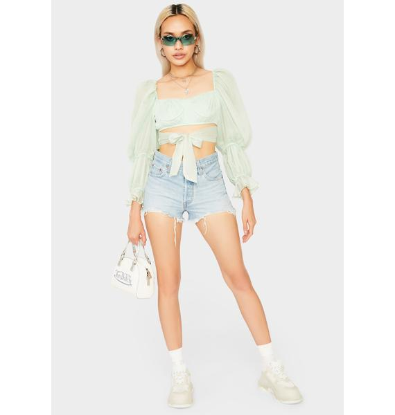 First Date Puff Sleeve Top