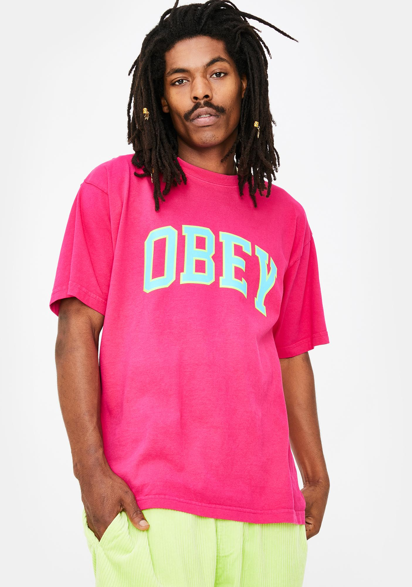Obey Academic 3 Heavyweight Classic Tee