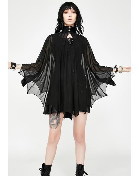 Cybele Bat Wing Dress