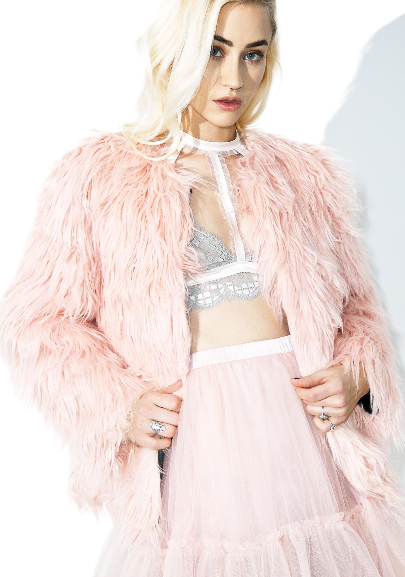 Candy Madison Faux Fur Coat
