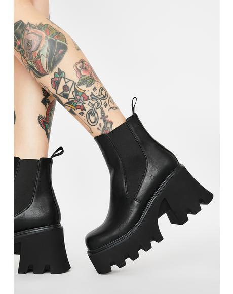 Breakin' Rulez Platform Boots