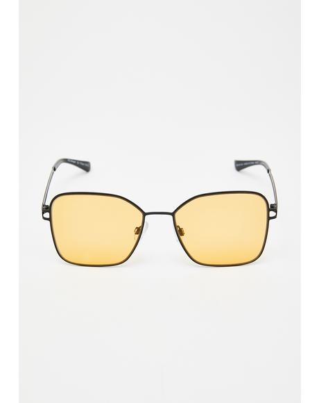 Ego Glow Clear Sunglasses
