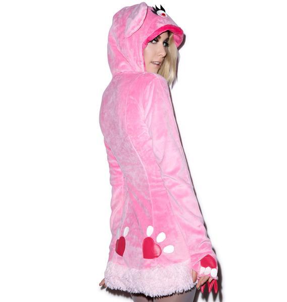 J Valentine Blush Bear Jacket