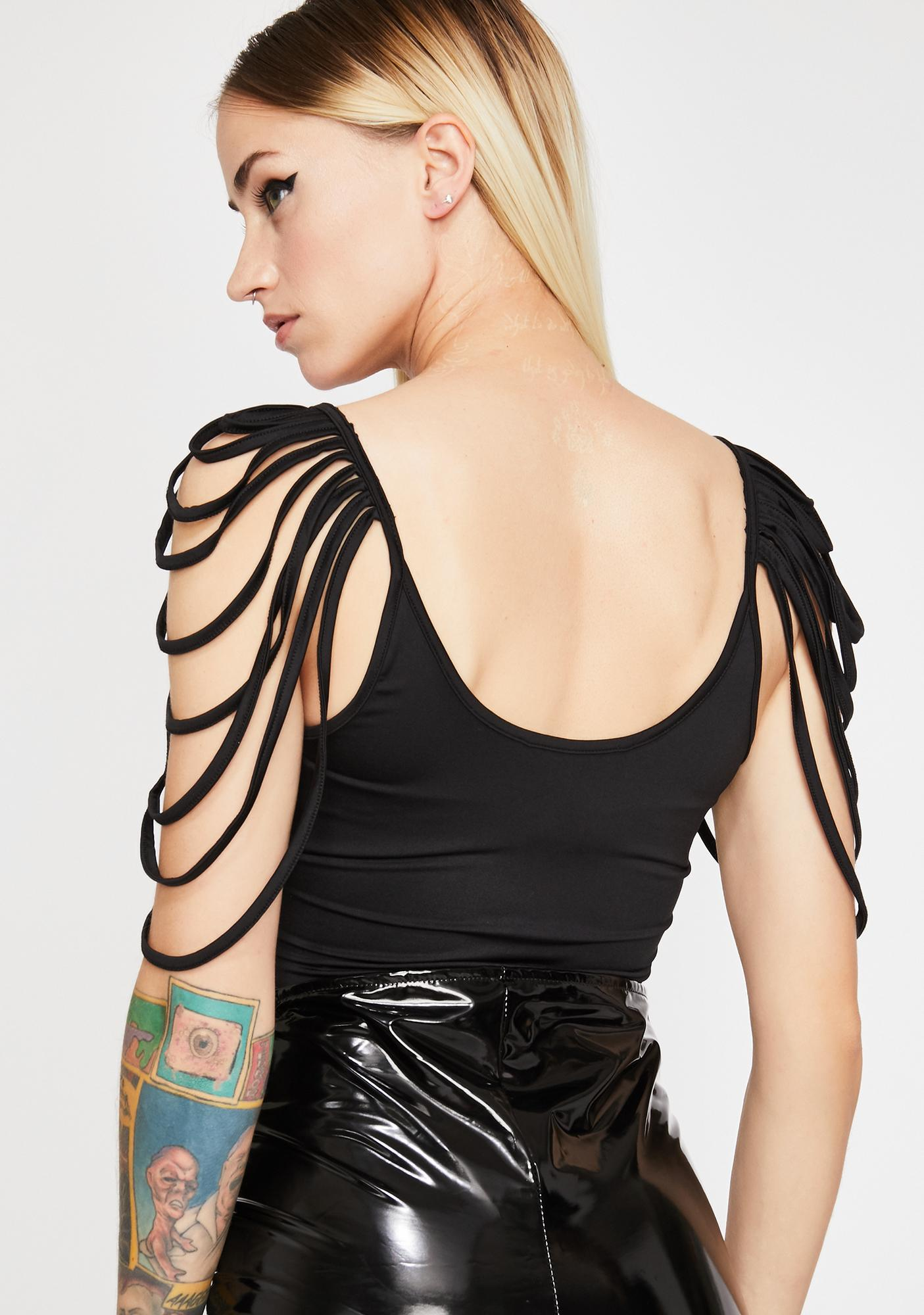 Rapture Doom Fringe Bodysuit