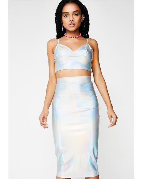 Big Spark Midi Skirt