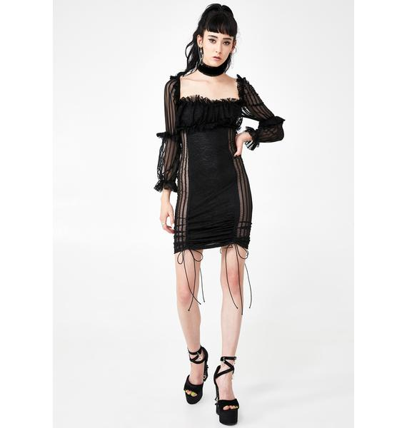 Kiki Riki Mistress Mayhem Mini Dress