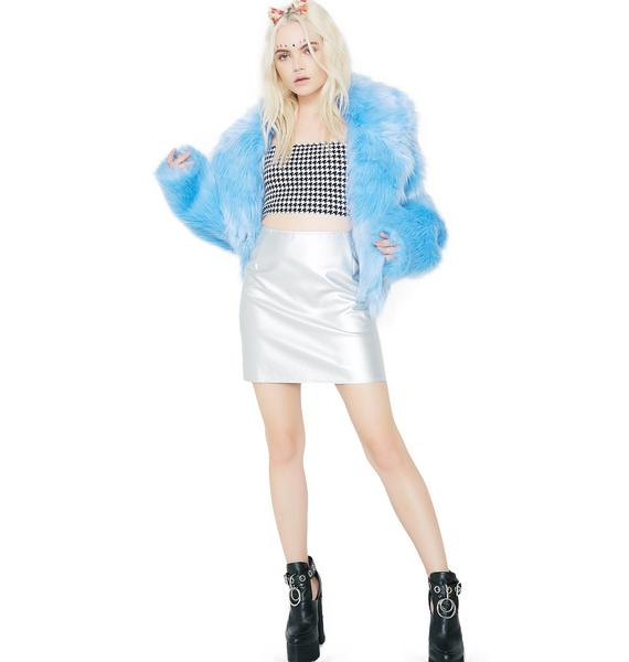 Motel Silver Topaz Skirt