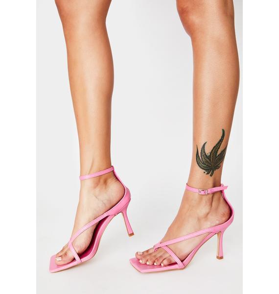 Miss Trendsetter Square Toe Heels