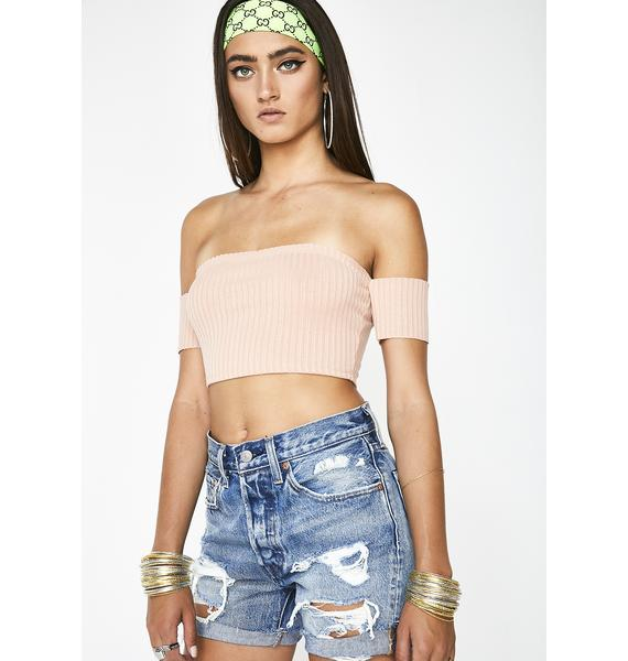 Always Dreaming Off Shoulder Top