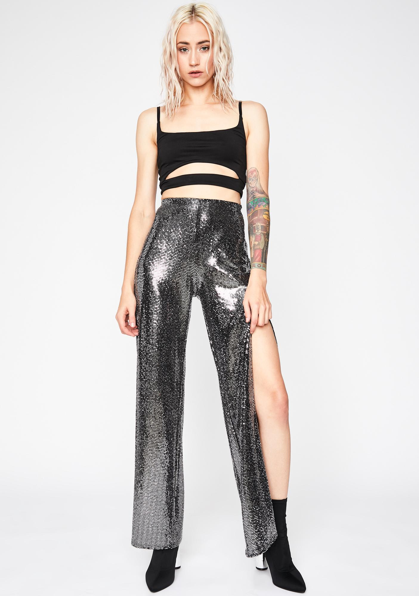 Disco Sass Wide Leg Pants