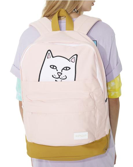 Blushin' Lord Nermal Backpack