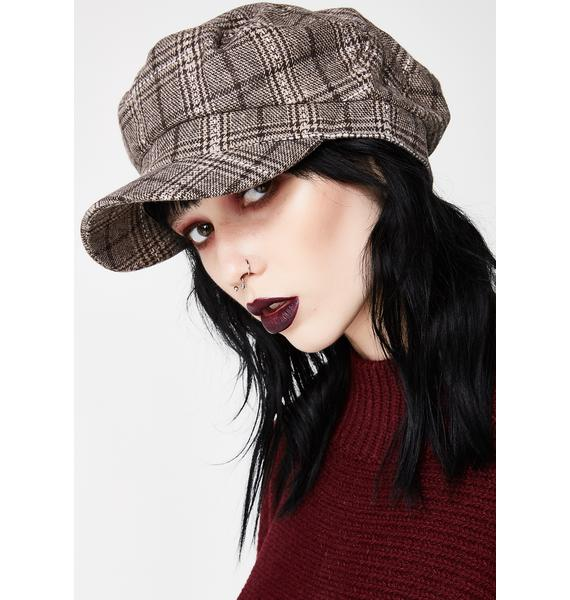 She Smokin' Plaid Cap