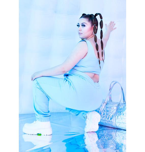 Club Exx Powder Infinite Fairy Flurry High Waist Joggers