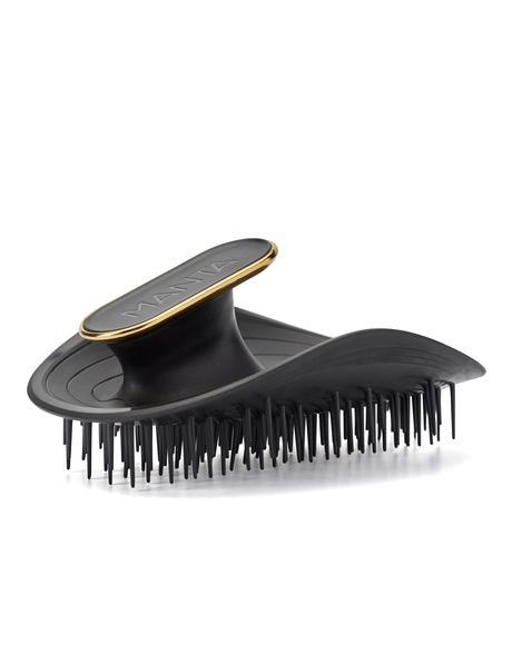 Black & Gold Manta Hair Brush