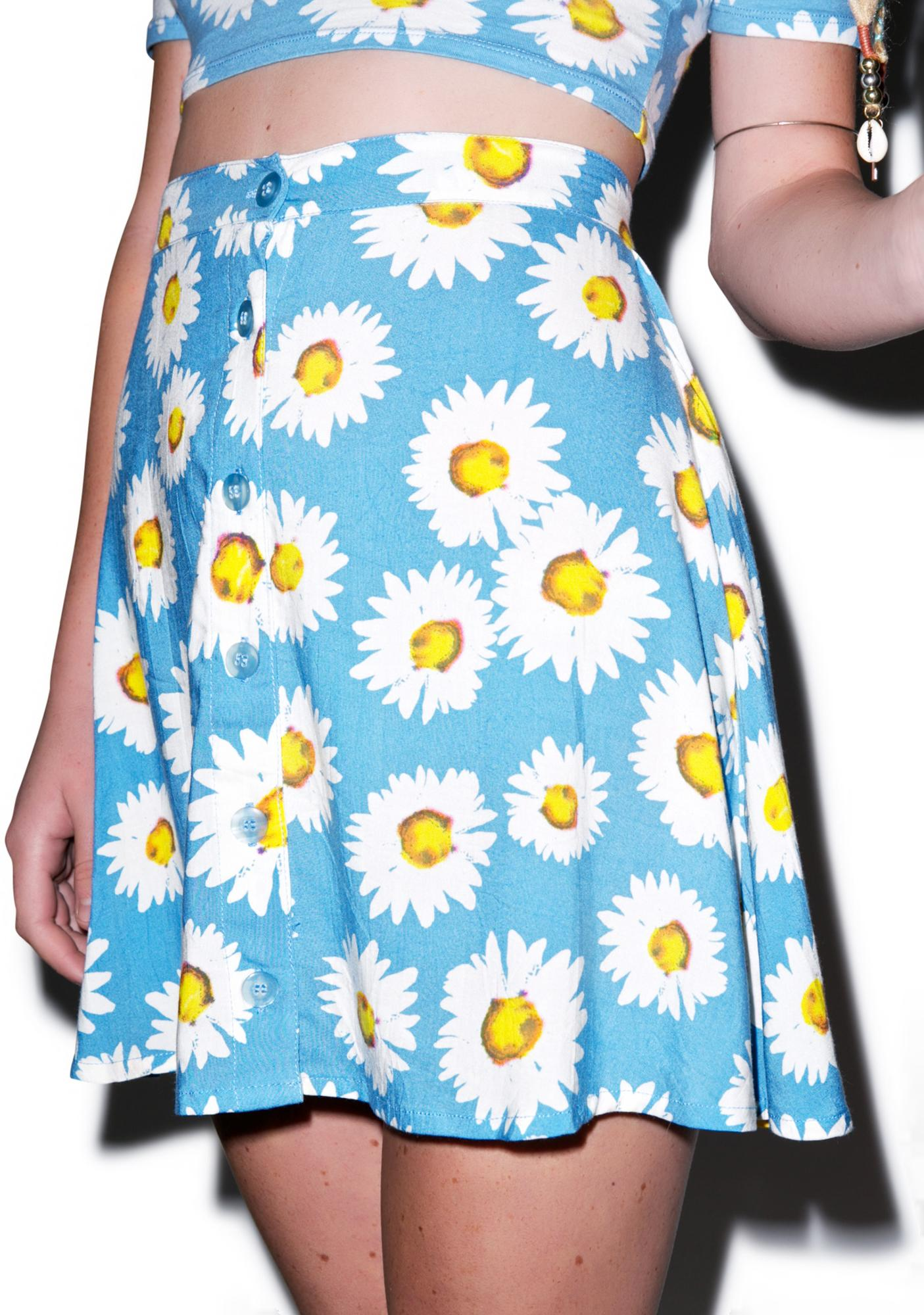 Motel Daisy Andrea Button Down Skirt