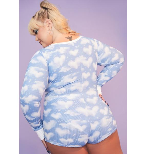 Sugar Thrillz Always Dreaming Of You Thermal Romper