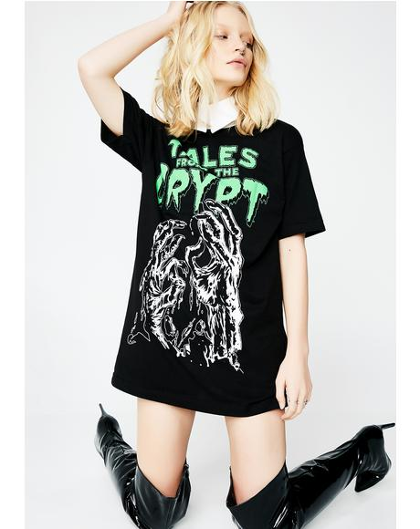 Tales From The Crypt Glow Hands T-Shirt