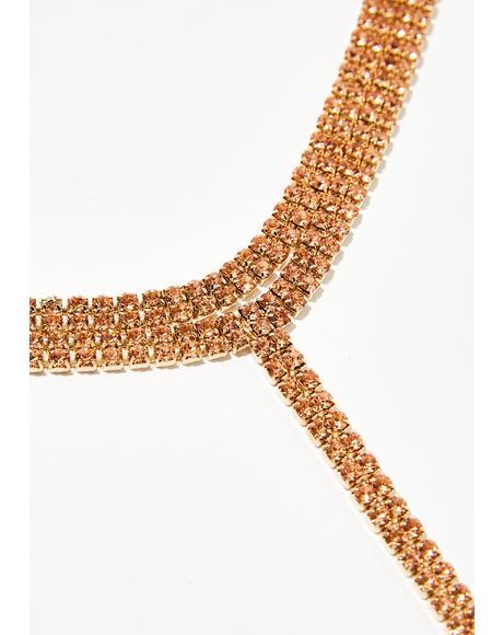 Let'z Talk Sugar Lariat Necklace