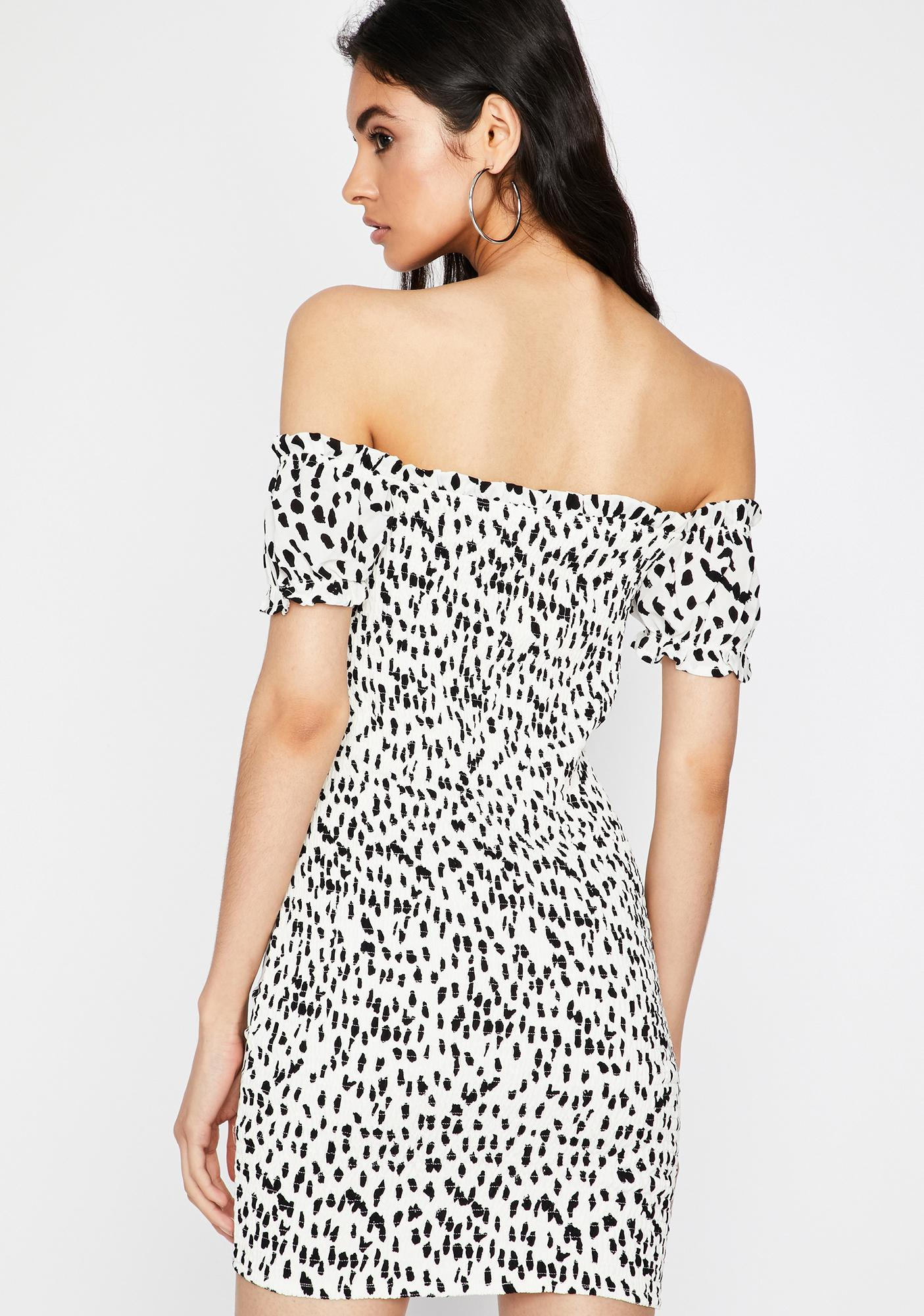 Spot On Mini Dress