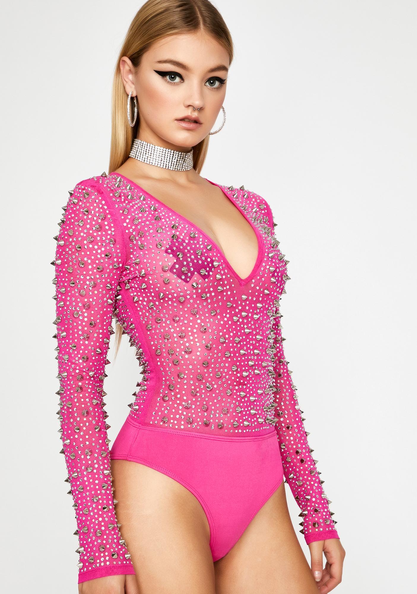 Killer Cute Studded Bodysuit
