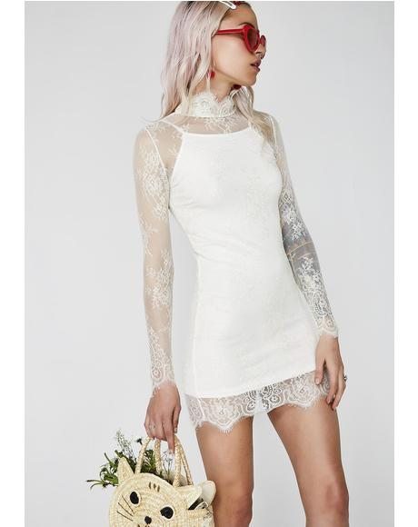 Self Indulge Lace Dress