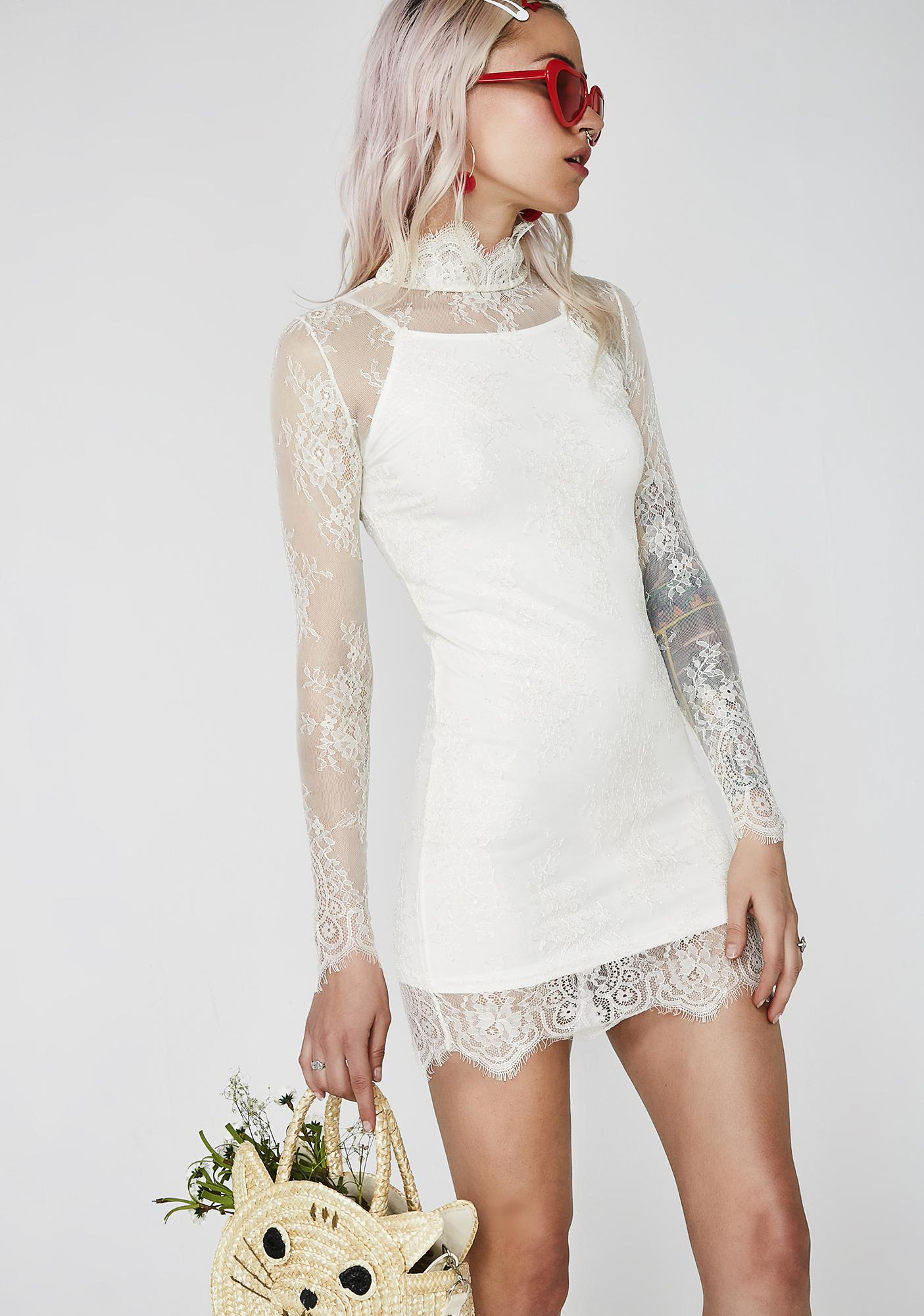 Sugar Thrillz Self Indulge Lace Dress