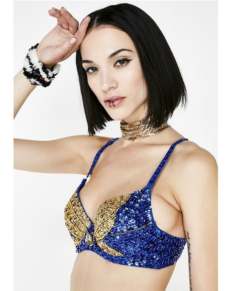 Ratchet Radiance Bling Bra