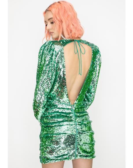 Marais Sequin Mini Dress