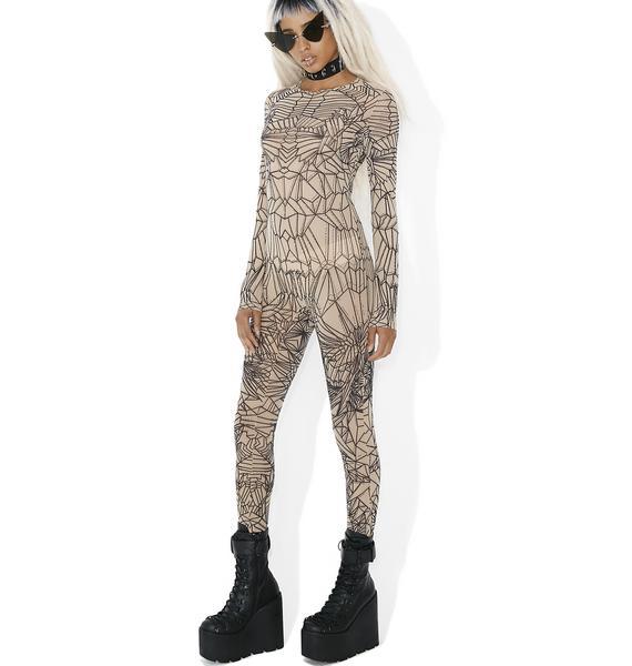 Kiki Riki Go Figure Sheer Bodysuit