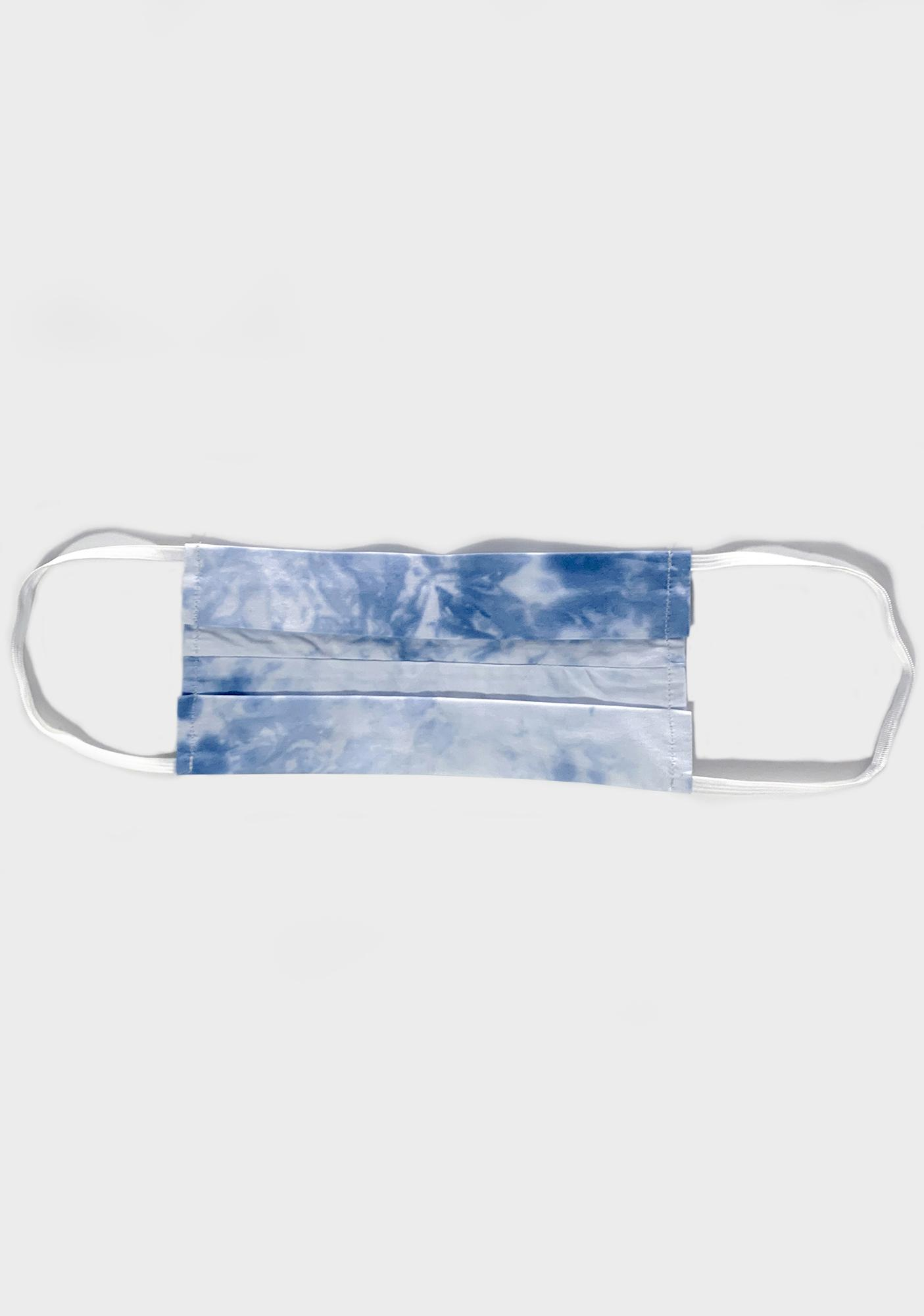 Chill Good Vibrations Tie Dye Face Mask