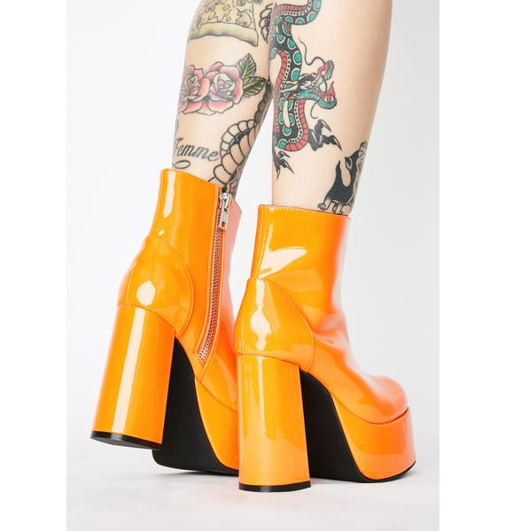 Current Mood Groovy Delight Platform Boots